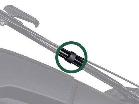 Rasenmäher-Benzin-51cm-Kabelschellen