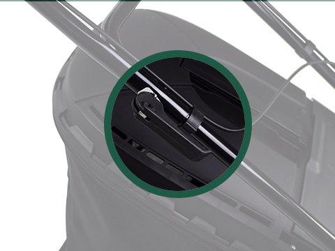 Rasenmäher-Benzin-51cm-faltbar
