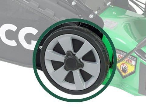Rasenmäher-Benzin-51cm-Rad