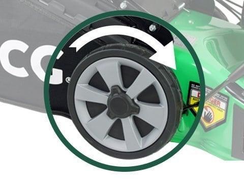 Rasenmäher-Benzin-51cm-selbstfahrend