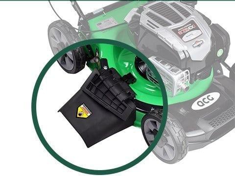Rasenmäher-Benzin-51cm-Seitenauswurf