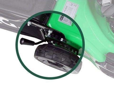 benzine-grasmaaier-ACG46-BASIC-hoogte-instelling