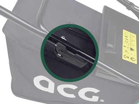 Benzin-Rasenmäher-ACG56-SUPERXL-Schelle