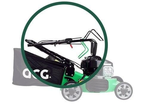 benzine-grasmaaier-ACG46-BASIC-opbergen
