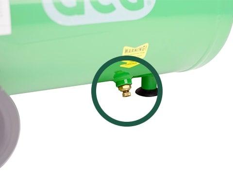 lucht-compressor-ACG24-10-BASIC-drainageplug