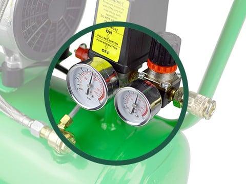 Kompressor-ACG24-10-BASIC-manometer