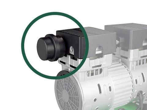 lucht-compressor-ACG24-8-SILENT-geluidsfilter