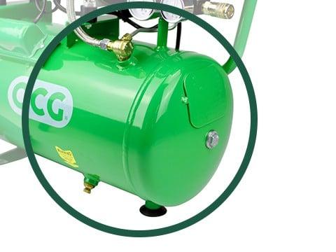 lucht-compressor-ACG24-8-SILENT-luchtreservoir