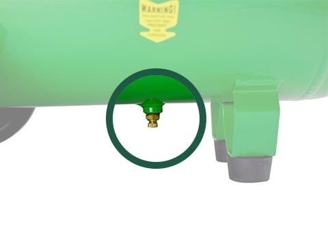 lucht-compressor-ACG50-10-BASIC-drainageplug