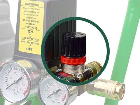 lucht-compressor-ACG50-10-BASIC-drukinstelling