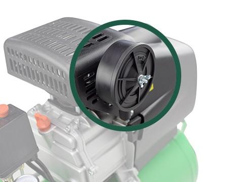 lucht-compressor-ACG50-10-BASIC-geluidsfilter