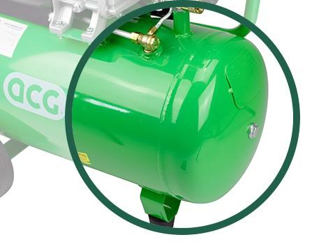 lucht-compressor-ACG50-10-BASIC-luchtreservoir