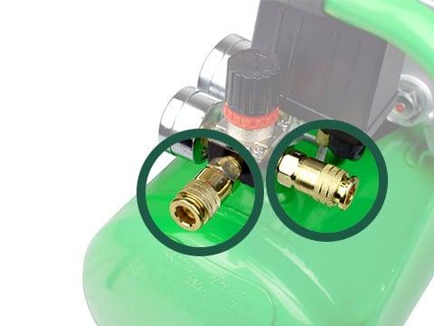 lucht-compressor-ACG50-10-BASIC-snelkoppeling