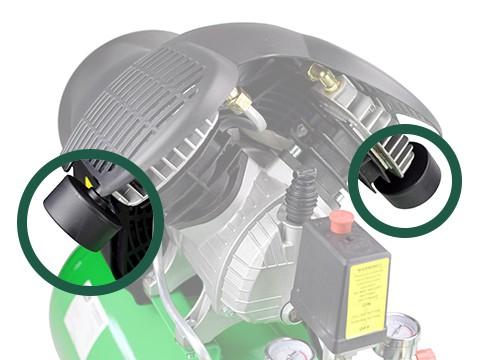 lucht-compressor-ACG50-10-SUPER-geluidsfilter