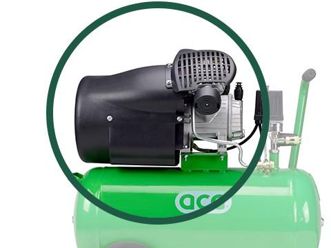 lucht-compressor-ACG50-10-SUPER-motor
