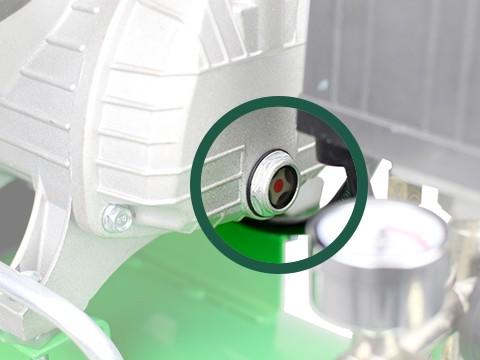 lucht-compressor-ACG50-10-SUPER-oliepeil