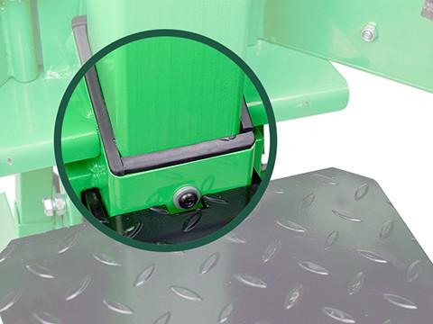 Houtklover-8ton-hoogwaardige-kunststofgeleiding