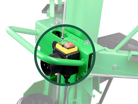 Houtklover-8ton-230V-schakelaar