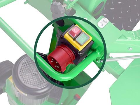 Kloofmachine-8ton-400V-schakelaar