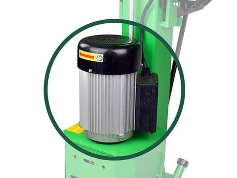 Kloofmachine-8ton-elektromotor