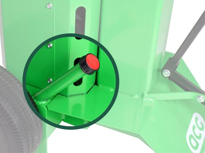 Kloofmachine-8ton-peilstok