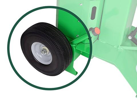 Houtklover-8ton-wielen