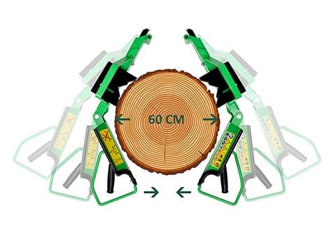 Houtklover-8ton-60cm-hout