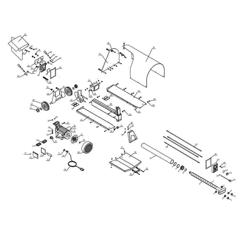 houtklover-7L230-reserve-onderdelen