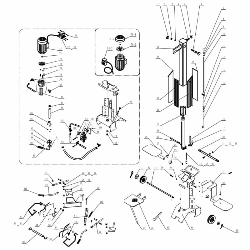 Klover-10T230-400-onderdelen